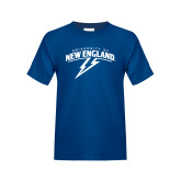 Youth Royal T Shirt-University of New England