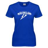 Ladies Royal T-Shirt-University of New England