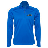 Syntrel Royal Blue Interlock 1/4 Zip-UNE Nor Easters