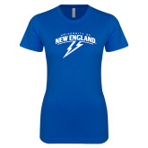 Next Level Ladies SoftStyle Junior Fitted Royal Tee-University of New England