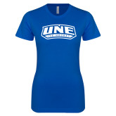 Next Level Ladies SoftStyle Junior Fitted Royal Tee-Hockey