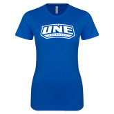 Next Level Ladies SoftStyle Junior Fitted Royal Tee-Lacrosse