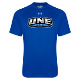 Under Armour Royal Tech Tee-UNE Nor Easters