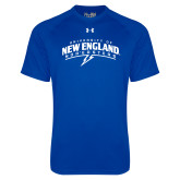 Under Armour Royal Tech Tee-University of New England Nor Easters