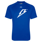 Under Armour Royal Tech Tee-Lightning Bolt