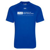 Under Armour Royal Tech Tee-University Mark Flat