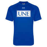 Under Armour Royal Tech Tee-University Mark UNE