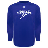 Under Armour Royal Long Sleeve Tech Tee-University of New England