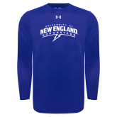 Under Armour Royal Long Sleeve Tech Tee-University of New England Nor Easters