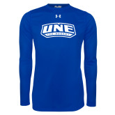 Under Armour Royal Long Sleeve Tech Tee-Hockey