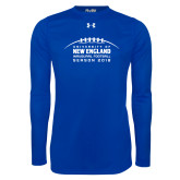 Under Armour Royal Long Sleeve Tech Tee-Inauguration Marks
