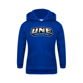 Youth Royal Fleece Hoodie-UNE Nor Easters