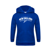 Youth Royal Fleece Hoodie-University of New England Nor Easters