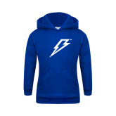 Youth Royal Fleece Hoodie-Lightning Bolt