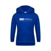 Youth Royal Fleece Hoodie-University Mark Flat