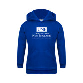 Youth Royal Fleece Hoodie-University Mark Stacked