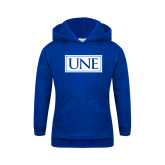 Youth Royal Fleece Hoodie-University Mark UNE