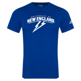 Adidas Royal Logo T Shirt-University of New England