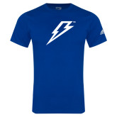 Adidas Royal Logo T Shirt-Lightning Bolt