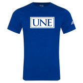 Adidas Royal Logo T Shirt-University Mark UNE