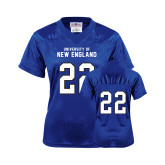 Ladies Royal Replica Football Jersey-#22