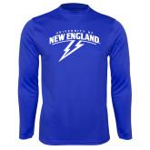 Syntrel Performance Royal Longsleeve Shirt-University of New England