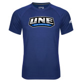 Adidas Climalite Royal Ultimate Performance Tee-UNE Nor Easters