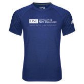 Adidas Climalite Royal Ultimate Performance Tee-University Mark Flat