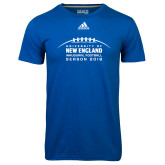 Adidas Climalite Royal Ultimate Performance Tee-Inauguration Marks