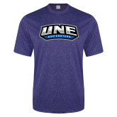 Performance Royal Heather Contender Tee-UNE Nor Easters