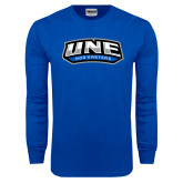 Royal Long Sleeve T Shirt-UNE Nor Easters