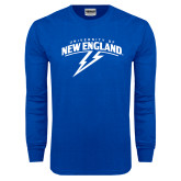 Royal Long Sleeve T Shirt-University of New England