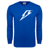 Royal Long Sleeve T Shirt-Lightning Bolt