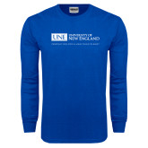Royal Long Sleeve T Shirt-University Mark Flat