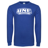 Royal Long Sleeve T Shirt-Soccer