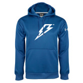 Under Armour Royal Performance Sweats Team Hoodie-Lightning Bolt