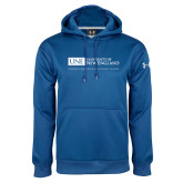 Under Armour Royal Performance Sweats Team Hoodie-University Mark Flat