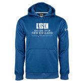 Under Armour Royal Performance Sweats Team Hoodie-University Mark Stacked
