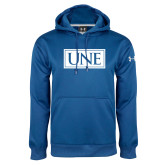 Under Armour Royal Performance Sweats Team Hoodie-University Mark UNE
