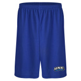 Performance Royal 9 Inch Short w/Pockets-UNE Nor Easters