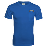 Royal T Shirt w/Pocket-UNE Nor Easters