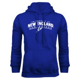 Royal Fleece Hoodie-University of New England Nor Easters