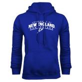 Royal Fleece Hoodie-University of New England Nor Easters