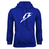 Royal Fleece Hoodie-Lightning Bolt