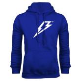 Royal Fleece Hoodie-Lightning Bolt