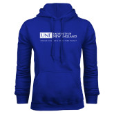 Royal Fleece Hoodie-University Mark Flat