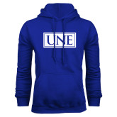 Royal Fleece Hoodie-University Mark UNE