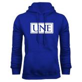 Royal Fleece Hoodie-University Mark UNE