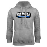 Grey Fleece Hoodie-UNE Nor Easters