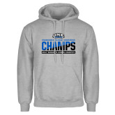 Grey Fleece Hoodie-2017 Womens Cross Country Champions